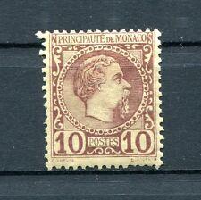 1885.MONACO.YVERT 4 *.NUEVO.(MH).CAT 120€