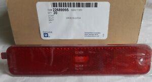 Genuine GM Pontiac Sunfire 2000 - 2005 Rear Sidemarker, RH p/n 22689995