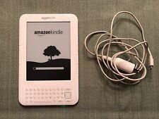 Amazon Kindle Keyboard (3rd Generation) 4GB, Wi-Fi + 3G (Unlocked), 6in - White