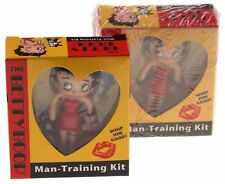Betty Boop Man Training Kit Whip Him Good Lot of 2 Figurine Book Manual