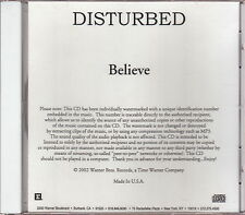 disturbed limited edition cd