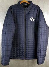 Colosseum BYU Navy Puffer Jacket Mens Size XXL