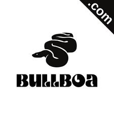 BULLBOA.com 7 Letter Premium Short .Com Marketable Domain Name