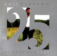 Eric Clapton 1988 Crossroads U.S. Tour Concert Program Book / Ex 2 Nmnt