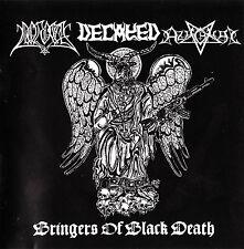 Azaghal / Decayed / Pogost - Bringers of Black Death CD,TSJUDER,HORNA,BEHEXEN