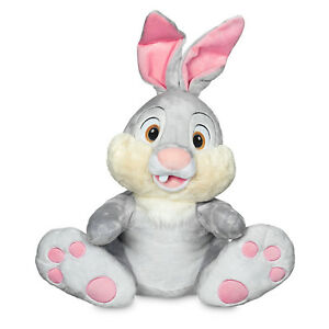 Bambi Large THUMPER Plush Bunny Rabbit Stuffed Animal Doll Toy Disney Store 18""