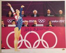 Aly Raisman Gold Medalist Autographed 16x20 Olympic Photo MAB Hologram