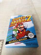 Caja Super Mario Bros 2 (Nes)