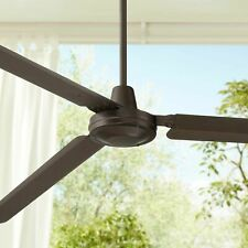 "72"" Modern Outdoor Ceiling Fan Oil Rubbed Bronze Damp Rated ~ FREE SHIP"