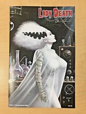 Lady Death Secrets #1 The Bride Returns Variant Cover by Matt Merhoff Signed