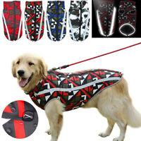 Waterproof Warm Winter Dog Coat Clothes Dog Padded Vest Pet Jacket S/M/L/5XL/6XL