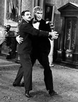 The Addams Family Cast John Astin  Ted Cassidy B/W   8x10 Glossy Photo