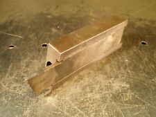 "CNC Lathe Cutoff Parting Tool Holder: 1-3/4"" Block Mo-Max 3/16"" x 1.096"" Carbide"
