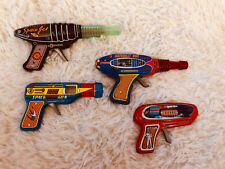 New Listing4 Vintage Toy Space Guns