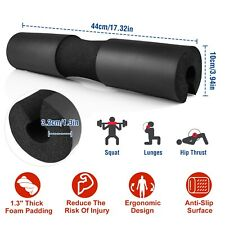 Barbell Pad Squat Bar Foam Cover Weight Lifting Pull Up Neck Shoulder Protect US