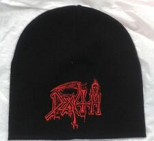 Beanie Death Symbolic Band Logo Embroidered Cd Death Metal
