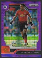 2019-20 Prizm Premier League VIOLET #67 Anthony Martial 08/75 Manchester United