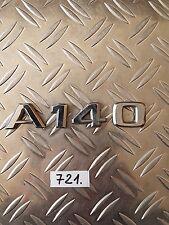 Mercedes Benz A140 rear boot badge