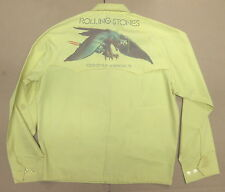 ROLLING STONES Tour Of The Americas 1975 Promo CONCERT Crew JACKET Medium VG+