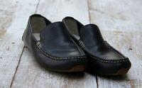 COLE HAAN Men's Sz 8.5 Black Moccasin Loafer Slip-On Dress Shoes