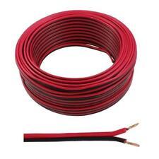 NEW 5 Meters 2x 1.5mm Red/Black Speaker Audio Cable Loudspeaker Wire Car HiFi
