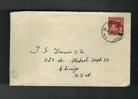 1926 Apia Western Samoa cover  to USA