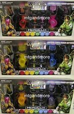 HeroClix War of Light Alle 3 Lantern Corps Power Batteries Packs