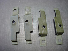 4 pcs 1970  - 1974 Challenger Cuda rear window alignment clips NOS 2964591