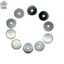 10pc 18mm Rotary Cutter Blades Replacement Sewing Paper Cloth Fabric Cutting