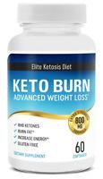 Keto Burn Advanced Weight Loss - Fat Burning BHB Capsules - Elite Ketosis Diet