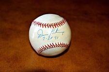 Don Mattingly Autograph MLB Baseball Steiner Certified New York Yankees Auto