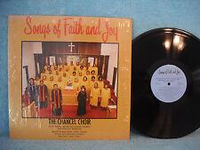 Chancel Choir, Songs of Faith and Joy, Chapman Recording Sudios D 1061, KC, MO