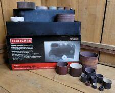 Sears Craftsman 21 Piece Drum Sanding Kit for Finish & Contour Sanding + Extras