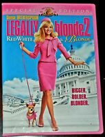 Legally Blonde 2 - Red, White & Blonde Special Edition (DVD) - Free Shipping