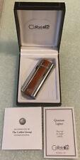 Vintage COLIBRI QUANTUM Wind-Resistant Butane Lighter QTR331000 in Box w/Papers