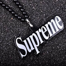 Supreme Hellaflush Car Rearview Mirror Hanging Car interior Ornament Necklace