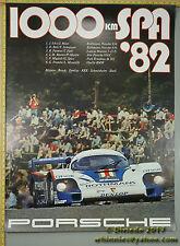 1982 Spa 1000km 956 Ickx Mass Porsche Genuine Factory Poster Original