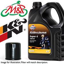 Kawasaki ZR 1000 Z1000SX 2015 Super4 Oil and K&N Filter Kit