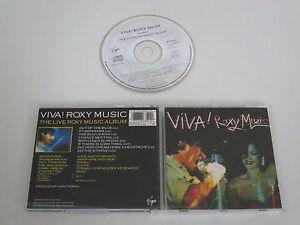 ROXY Music / Viva! (Virgin Egcd 25/0777 7 86354 2 0) CD Álbum