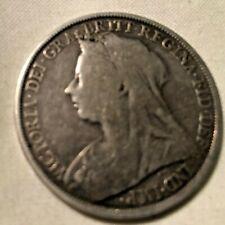 1896 QUEEN VICTORIA SILVER CROWN
