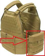 1 Set Eagle Industries Usmc Mtv Tactical Vest Coyote Side Plate Pocket Carrier