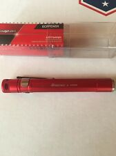 New Snap On Red  Dual Mode LED Pocket Light