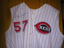 1999 Juan Guzman Cincinnati Reds Game Used Worn Jersey