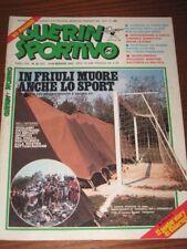 GUERIN SPORTIVO=N.20 1976=POSTER STORY L.CHIARUGI=INGHILTERRA BRASILE E USA