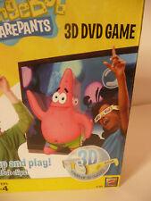 Sponge Bob Squarepants DVD Game-3D 7 Games/3D Glasses NIB