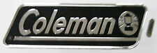Black Coleman  Decal for Coleman Campers
