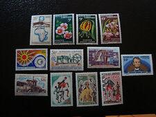 GABON - timbre - yvert et tellier n° 174 a 185 n** (A7) stamp