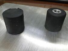 Rubber Bumper with 3/8-16 threaded insert semi SOFT