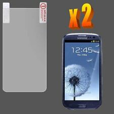 For Samsung Galaxy S III 3 2X High Quality Clear LCD Screen Protector Guard