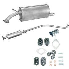 Auspuff Mitteltopf Endtopf Chevrolet Aveo / Kalos 1.2 / 1.4 + Montageware